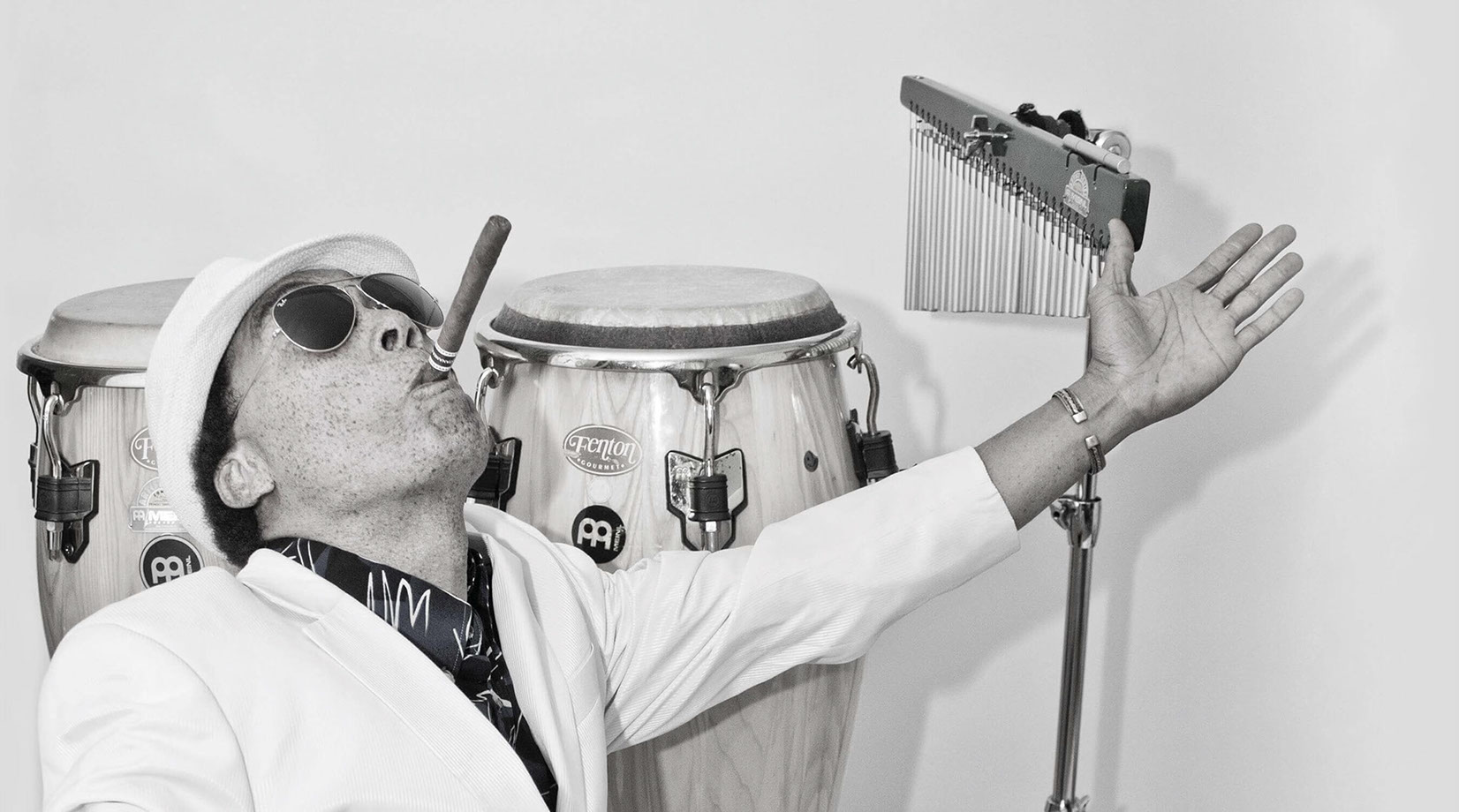 Miguel Fenton, Percussionist and Vocalist.